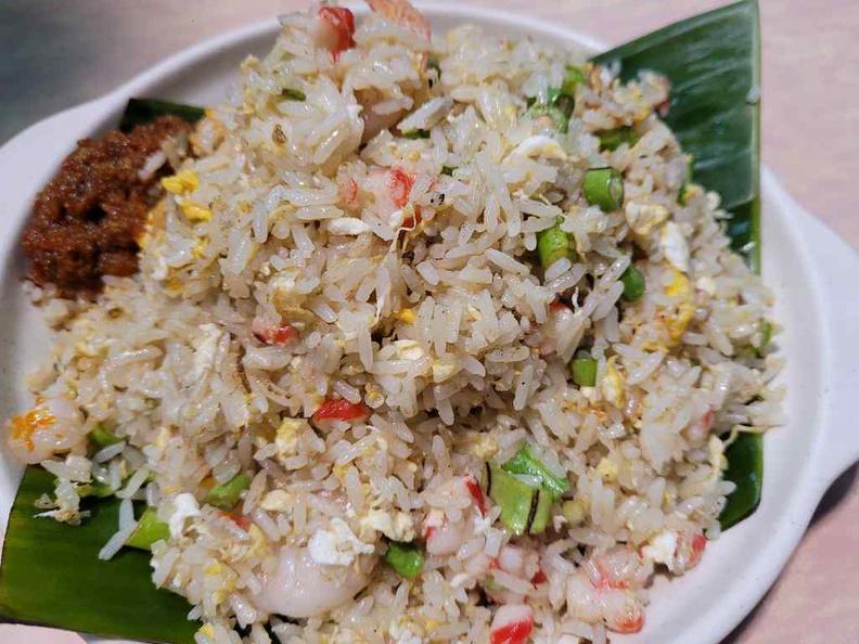 Star Yong Kwang BBQ fried rice