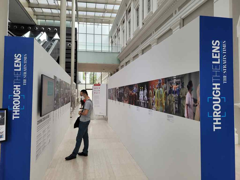 Straits Times local photography showcase at the World Press Photo 2020 Exhibition