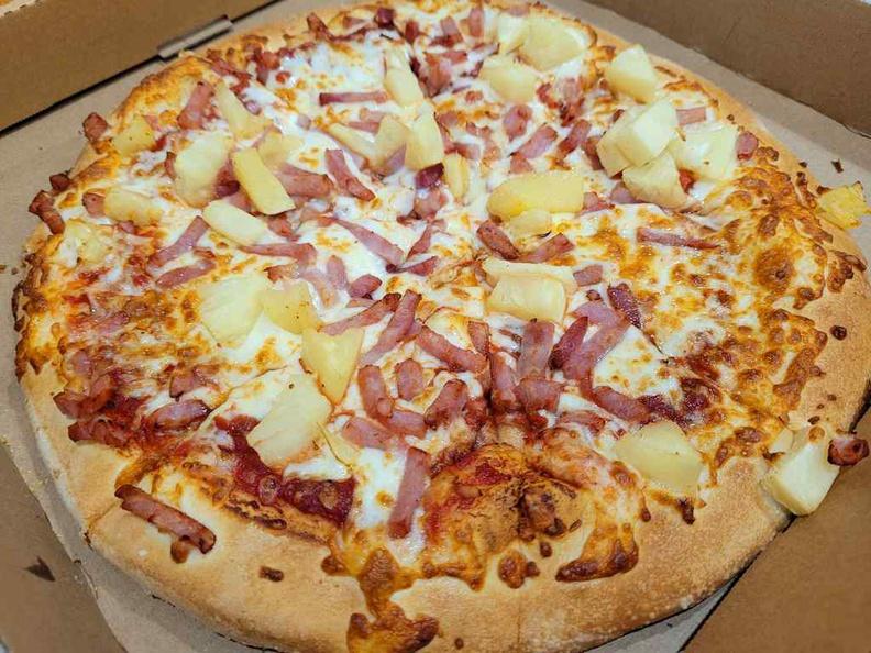 Little Caesars Hawaiian pizza