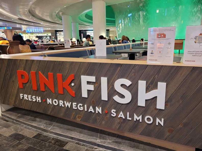 Pink Fish Changi Jewel at the basement of Changi Airport Jewel mall