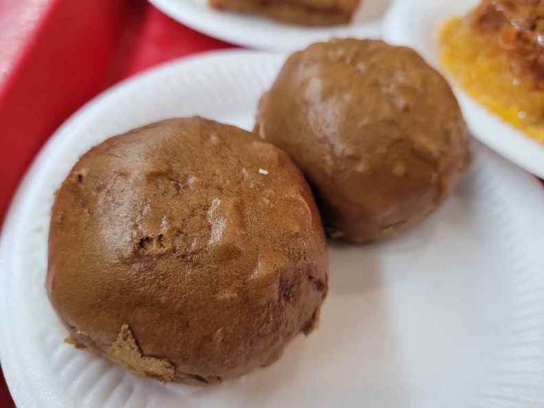 Coffee buns is pretty unique and a recommended item here at 1.30 dim sum