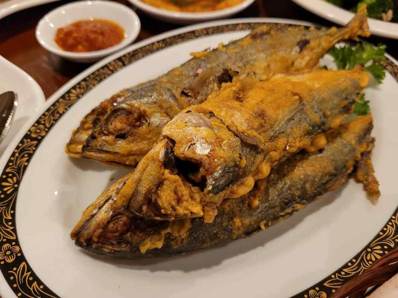 Ikan Goreng is a crispy treat, and it is juicy on the inside without being too dry