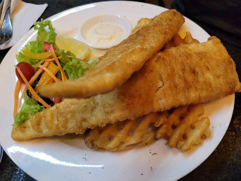 Fish and chips ($16.90)