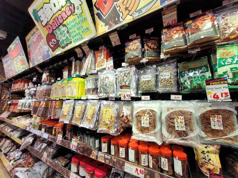 Japanese delicacy snacks