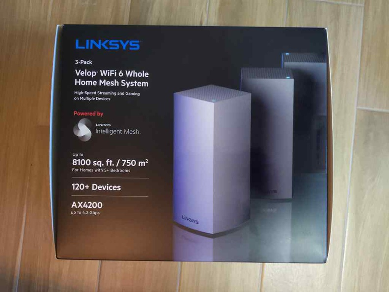 The MX4200 3 access point pack, suitable for large installations