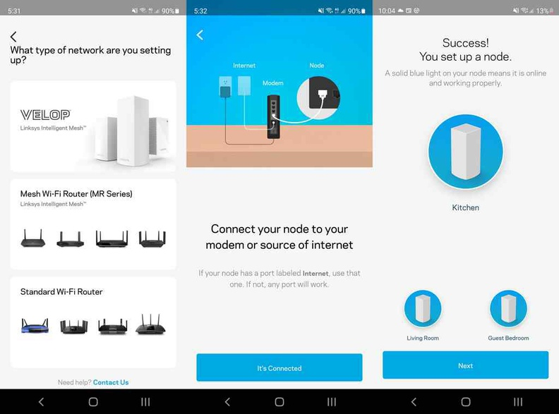 Setting up your Linksys MX4200 router via the Linksys App is easy and straight forward