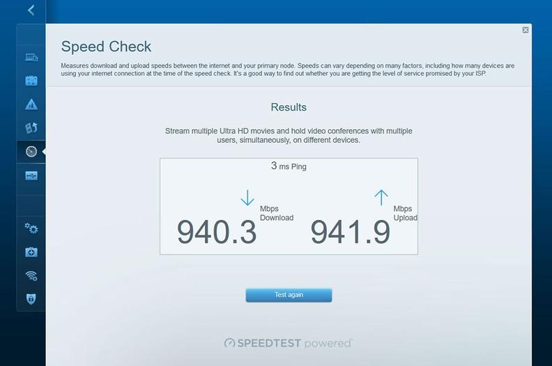 Near 1Gbps speeds achievable via WAN in this speedtest