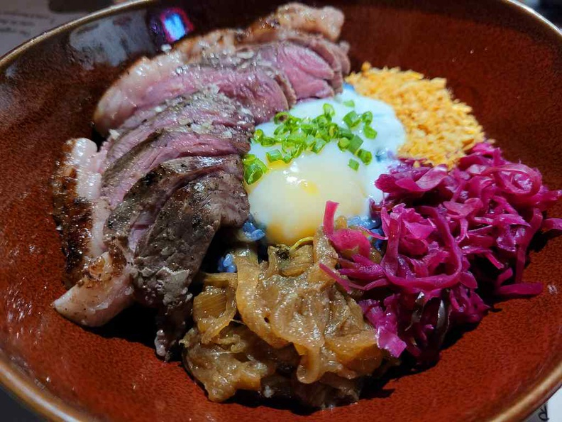 Picanhas Rice Don ($16), served with 100 grams of their signature rump steak