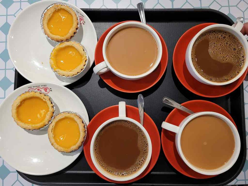 English egg tarts is a great tea break staple and best paired with their traditional teas or coffees