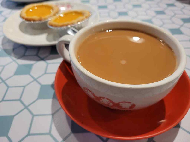 Hainan story teas are best ordered with less sugar, especially pairing it with the sweet egg tarts