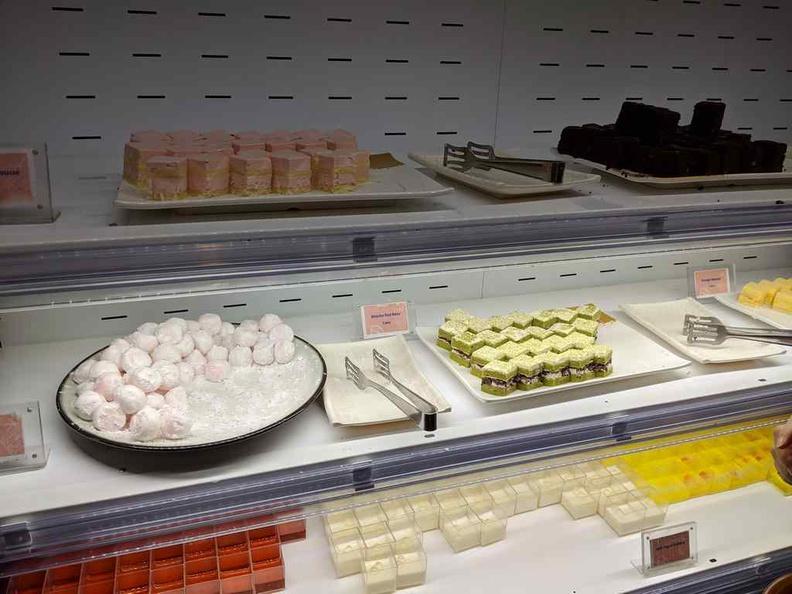 Kiseki Japanese Buffet Mochi desserts
