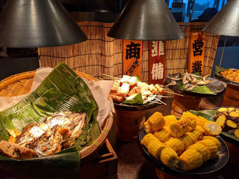 The Japanese grill has a nice touch of staples and best paired with servings of rice