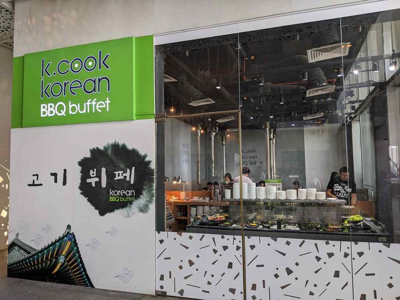 Welcome to K cook buffet at Orchard Central