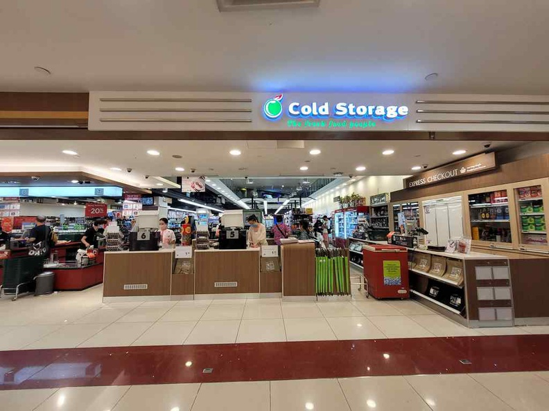 West Coast plaza cold storage