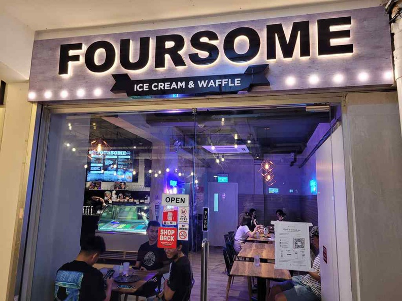 Foursome Storefront at Sin Ming