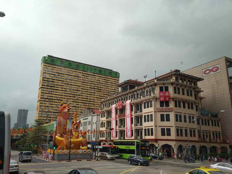 Yue Hua Chinese products Building exterior at the heart of Singapore Chinatown