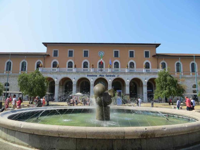 Genoa Italy central train station