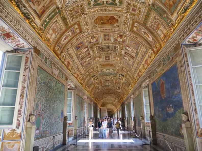 Vatican city Internal museum walkways