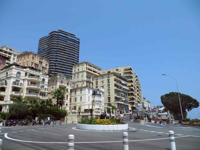 The Monte Carlo Monaco GP F1 track, right here in the heart of Monaco city
