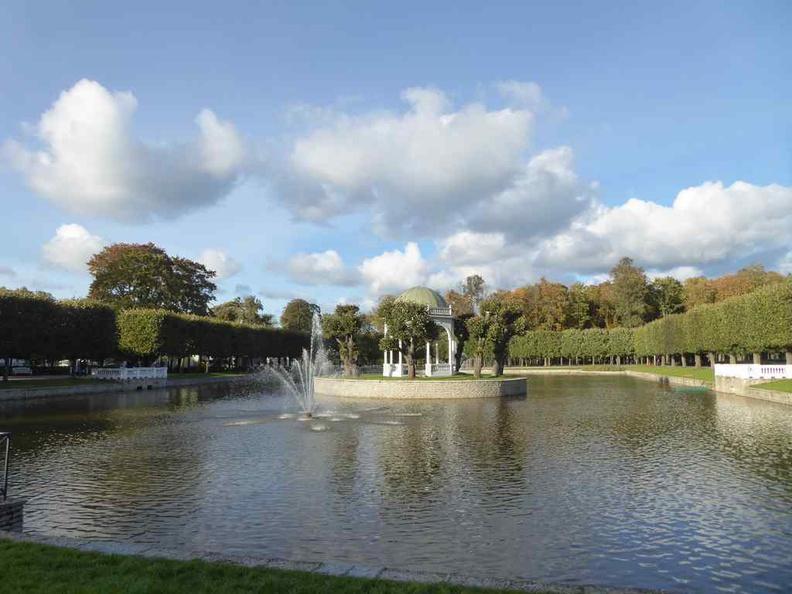 Ponds lake Gardens in the Tallinn people's park