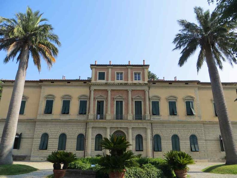 Pisa Italy Botanical garden entrance