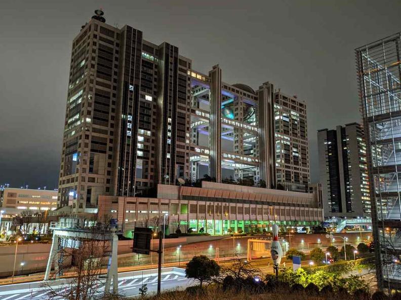 Tokyo Teleport Fuji television network building