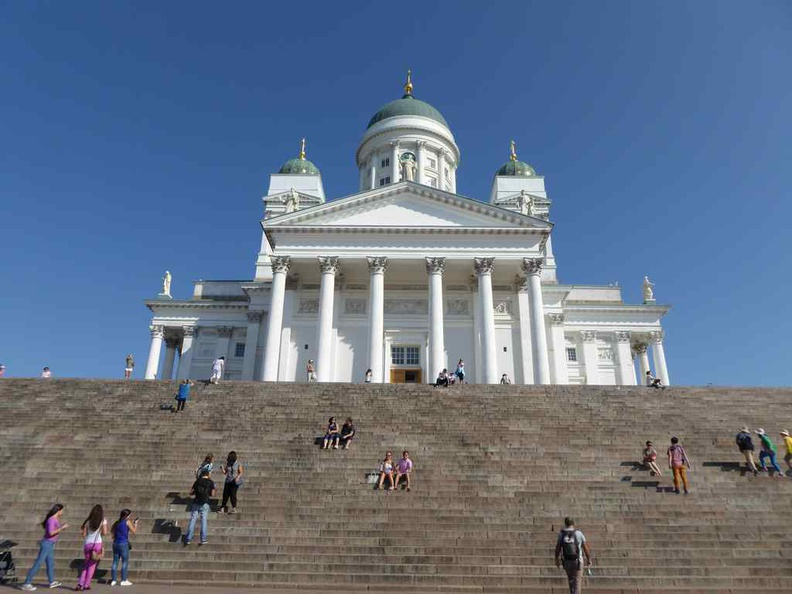 Helsinki Cathedral, the most iconic building in the city and highly recognizable landmark of the city