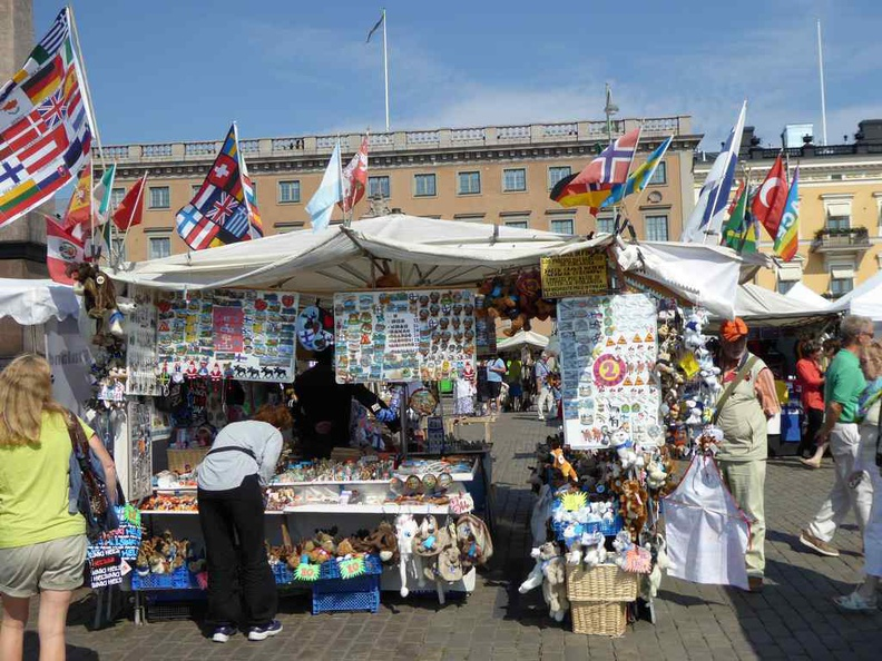 Helsinki south market square, comprising of souvenirs, markets and food stores