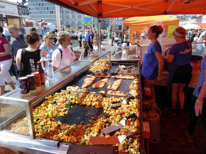 Helsinki Finland Market lunch, it is quite a hearty gastronomical affair