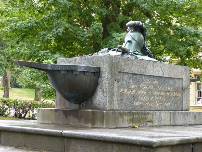 Augustin Ehrensvärdgrave Grave