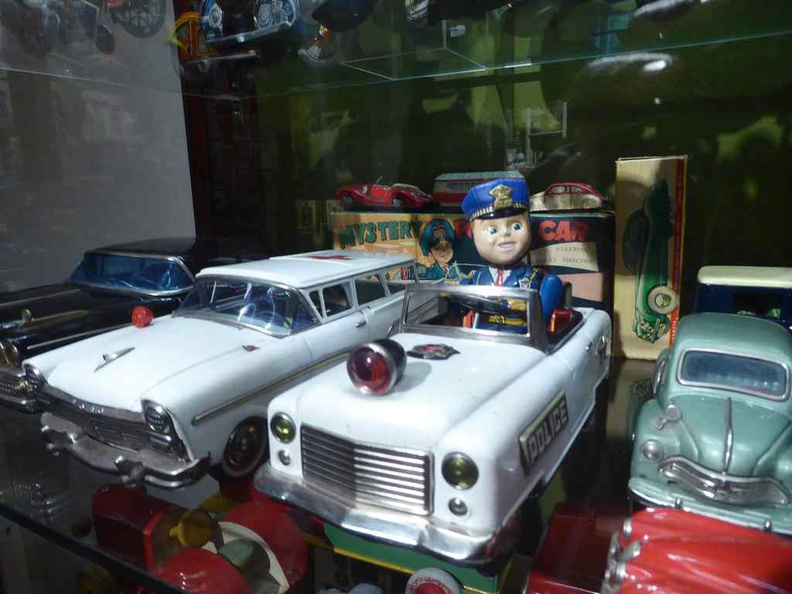 Vintage toys in the Suomenlinna Toy museum