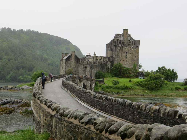 Eilean Donan Castle, one of the many castles here in medieval Scotland