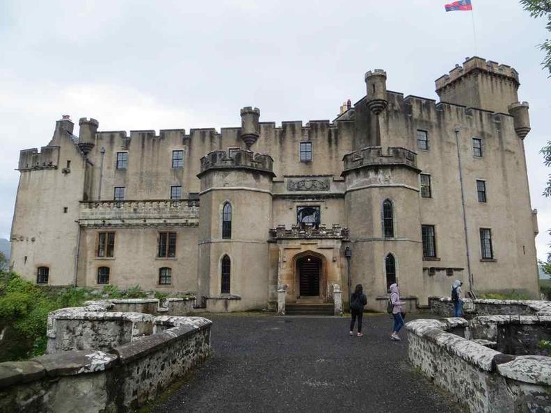 Main entrance of Dunvegan Castle
