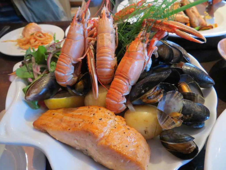 Scotland is known for their really fresh seafood, you should make it a must-try on tour trip