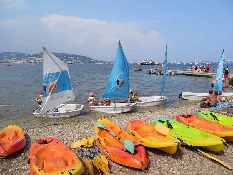 Island sport activities