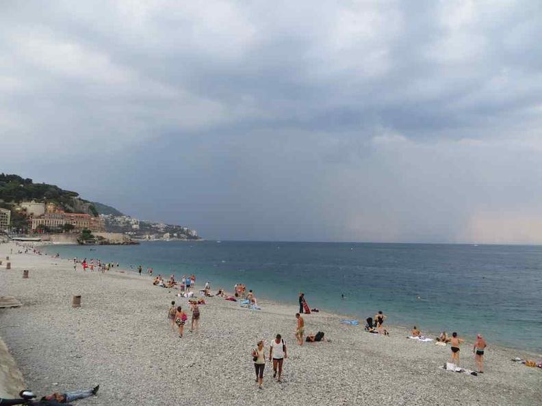 Nice France Long winding beaches running the town coastal length