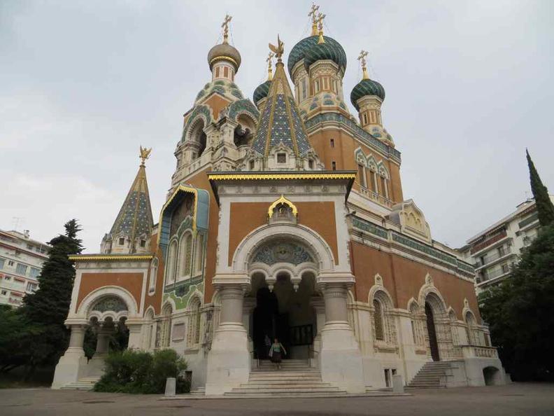 Nice France Cathédrale Saint-Nicolas de Nice Orthodox Cathedral