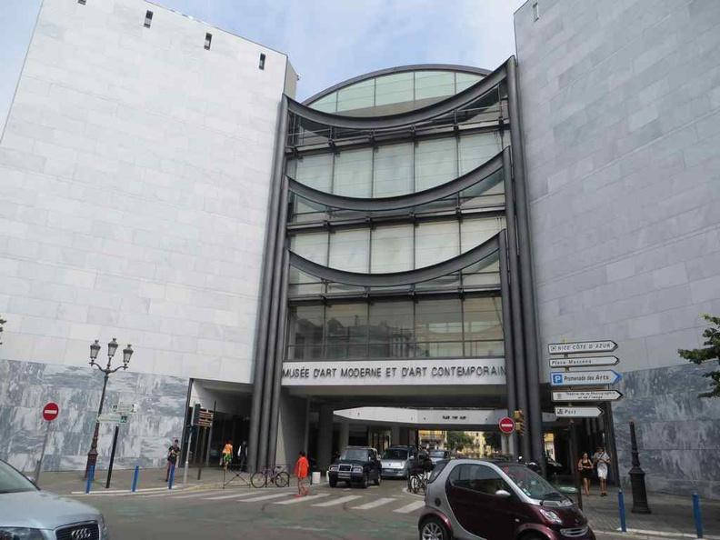 The Nice France Musée d'Art Moderne et d'Art Contemporain