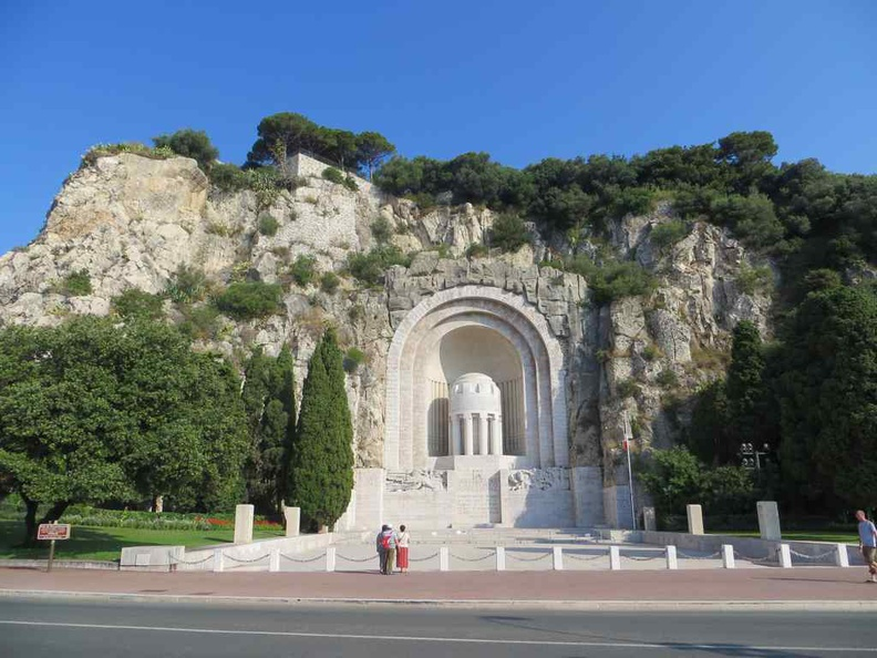 Monument aux Morts Nice France