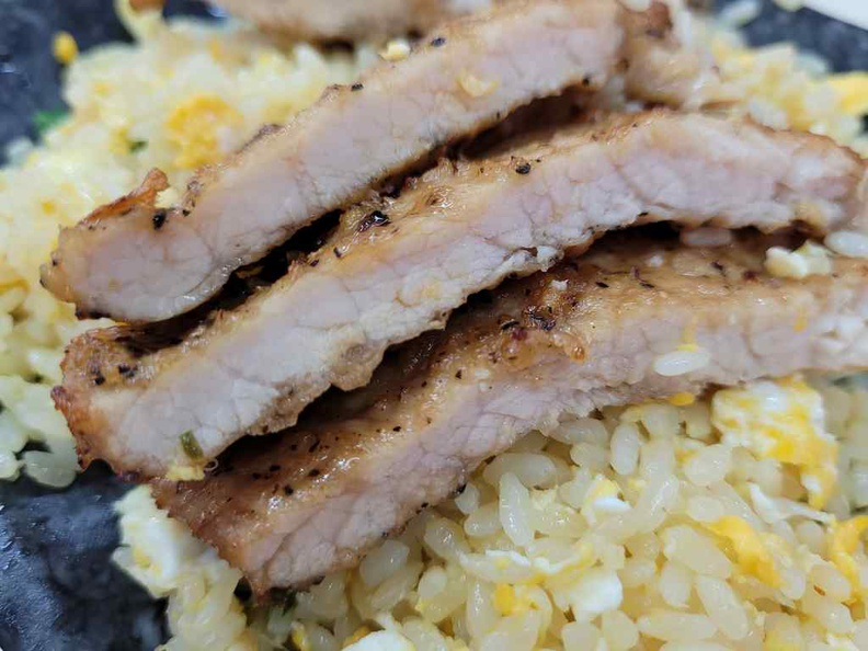 Pork Cutlet is well marinated with spices with a juicy interior