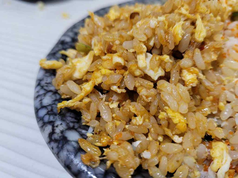 The mala rice is flavourful and good if for your mala fix. Though I would stick to regular egg fried rice as it is still their best offerings