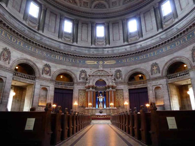 Copenhagen Denmark Marble church interior