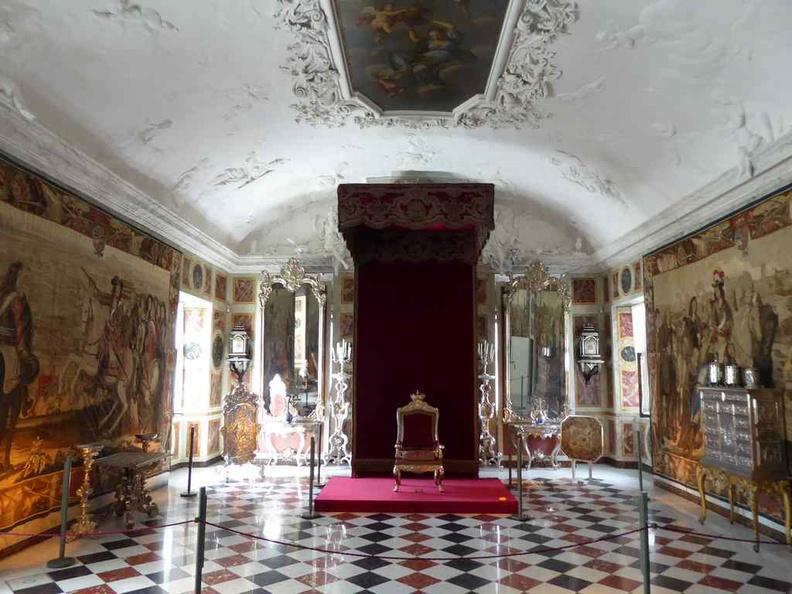 Rosenborg Palace Throne room