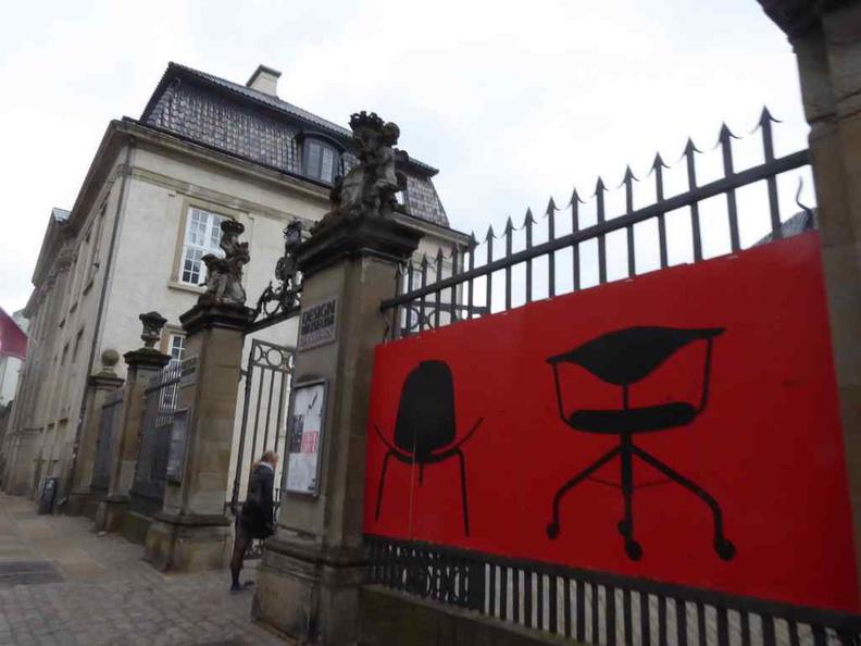 Entrance to the Copenhagen Design museum