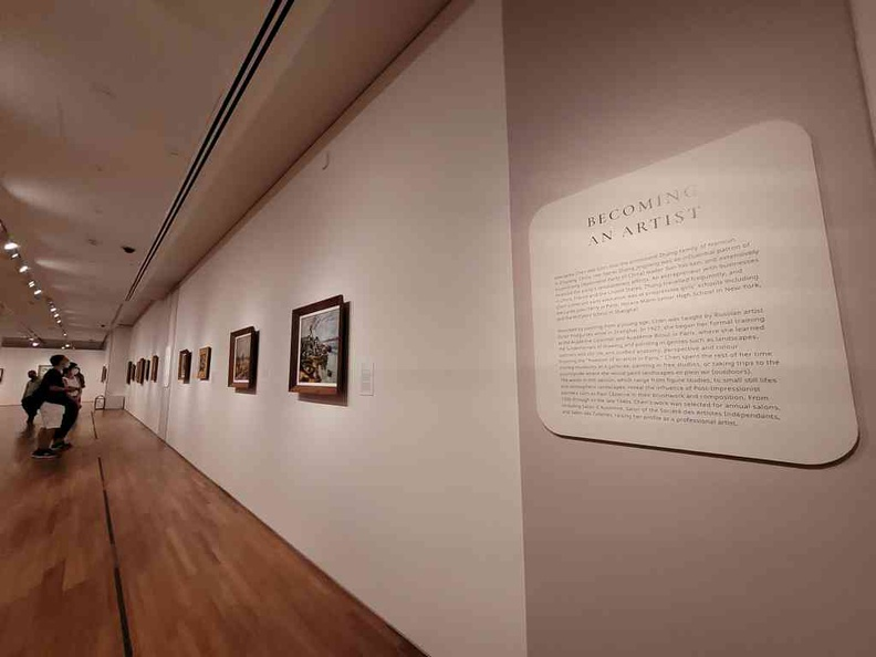 Follow through the life story and see the works of Georgette at home in the world in the National gallery