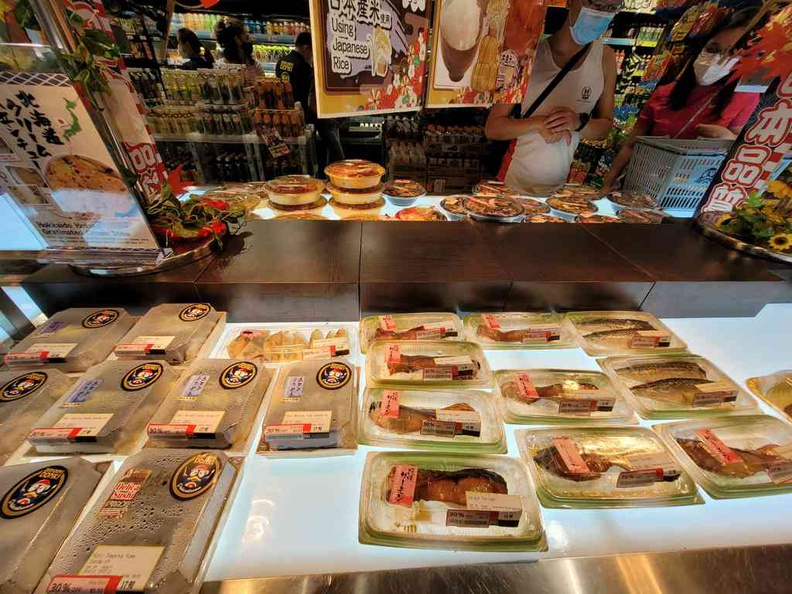 Don Don Donki Pasir Ris Lots of bento sets, an affordable Japanese staple available here daily