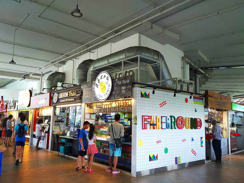 The Faregrounds hawker stores