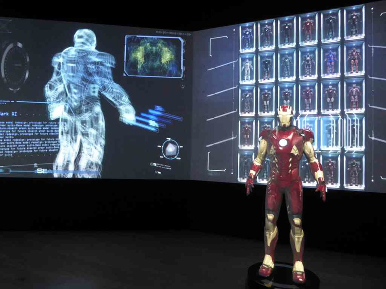 Running through the list of Ironman armour suits