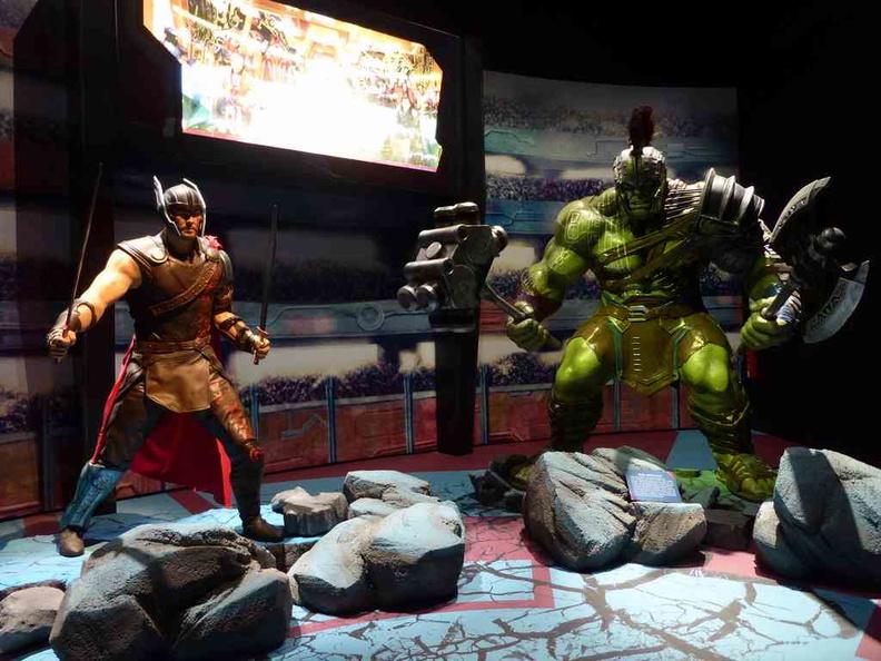 Sakaar's magnificent gladiator arena
