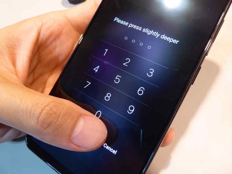 Fingerprint unlock with optional pin unlock overwrite